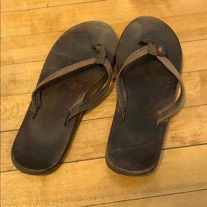 Rainbow Sandals, thin straps